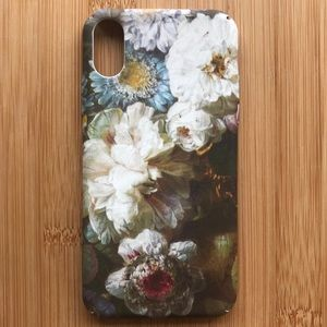 NEW Iphone X Floral Flowers Case